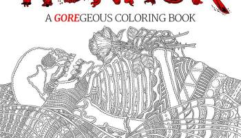 Get Out The Red Crayons A Horror Themed Coloring Book Is Being Released